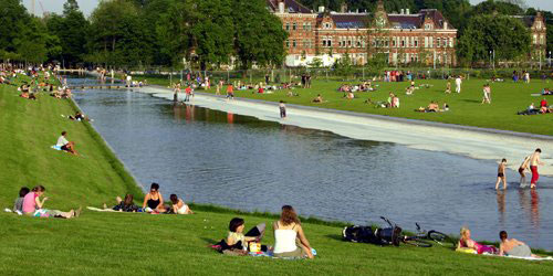 Westerpark in Amsterdam