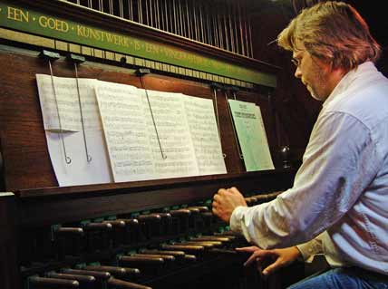 carillonneur Boudewijn Zwart loves playing Bach on the carillon of the Westerkerk, Western Church in amsterdam