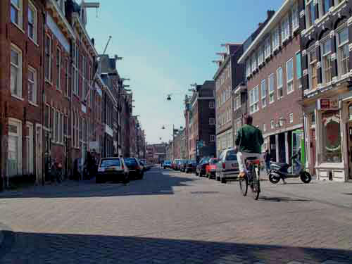 willemsstraat in de Jordaan