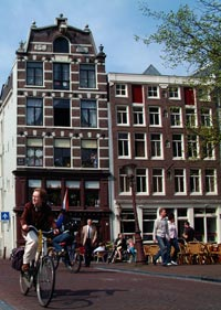 Brown cafe Pieper at Ring of Canals, Prinsengracht 424 in Amsterdam