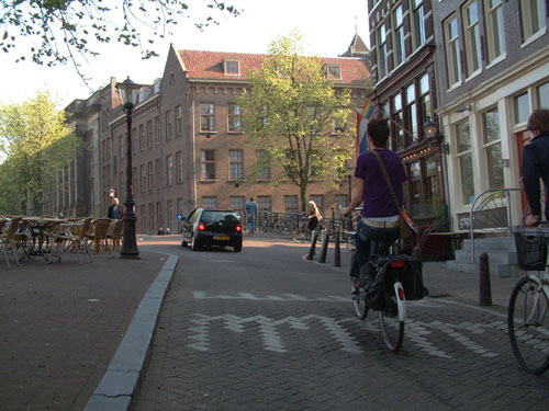 Prinsengracht, Ring of Canals in Amsterdam