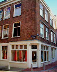boutique in the Tichelstraat in the Jordaan in Amsterdam
